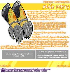 Mole Mitts by Atlanta-Hammy