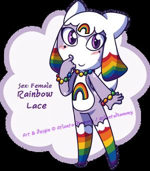 Rainbow Lace Keronian Adoptable (OPEN)