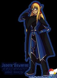 Birthday Gift: Jadoth Dawnfire by Atlanta-Hammy