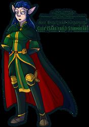 Commission: Clea (Sara'fael) Stormheart by Atlanta-Hammy