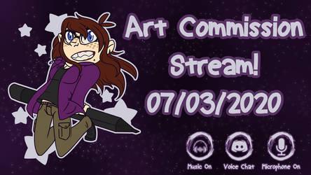 Art Commission / New Computer Fund Livestream