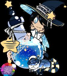 YCH: Seastar Witch