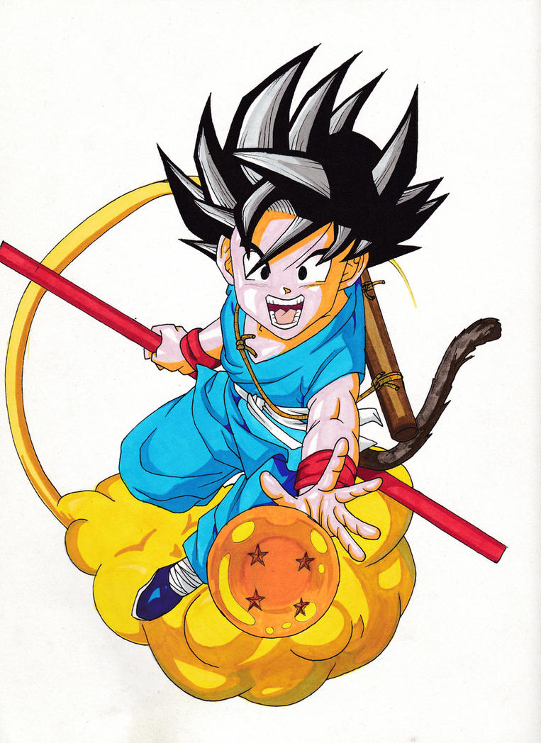 Young Son Goku by Sakuchane