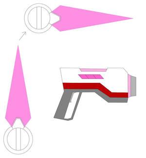 Aria's weaponry