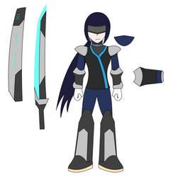 Kage, the Shinobi reploid