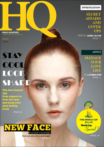 HQ Magazine 2014 by jamesjacobk