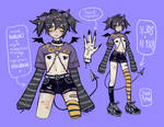 {open} gothic shawty adopt by 3va4an