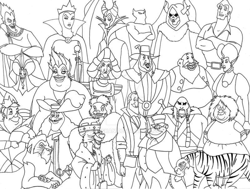 Disney Villains by Horskan on DeviantArt