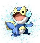Dewt, salamander fakemon