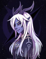 Aaravos (the Dragon Prince) by PointlessMu