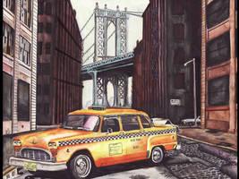 Checker Marathon Cab NY 1977