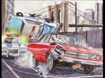1967 Dodge Coronet Movie Car Chase