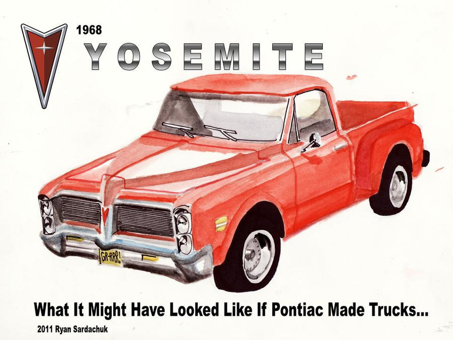 What If Pontiac Made Pickup Trucks By