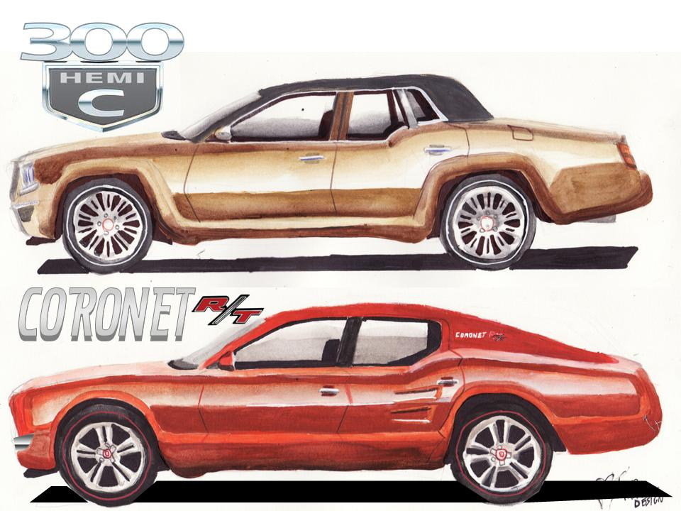 My Chrysler 300 And Dodge Coronet Concept Cars By