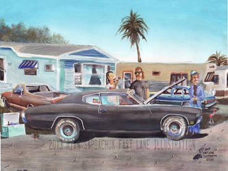 The Life Story Of A 1970 Chevy Chevelle (Part 20) by FastLaneIllustration