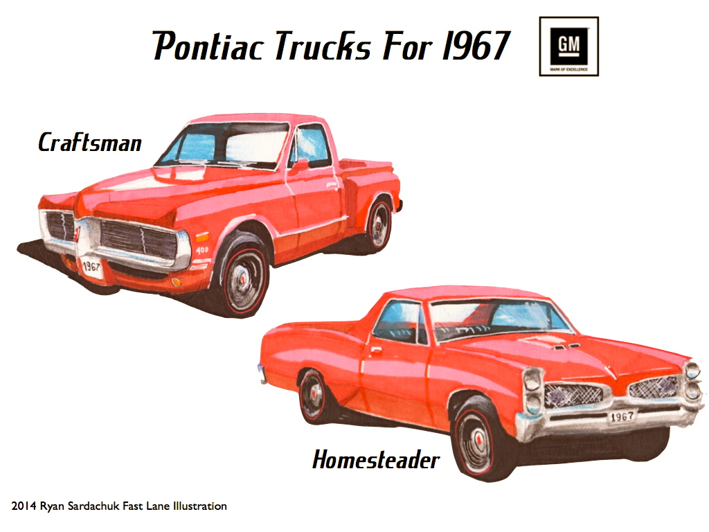 What If Pontiac Made Trucks In The 60s By