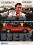 1989 Chrysler TC Masarati Ad Feat Robert DeNiro by FastLaneIllustration