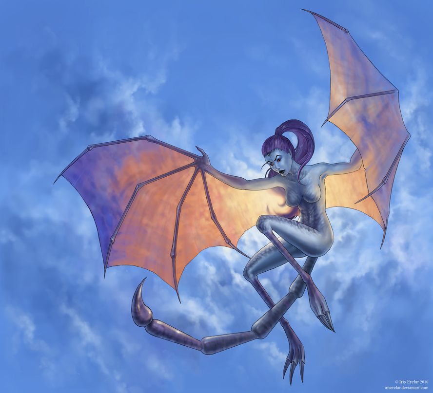 Winged Twilight by IrisErelar