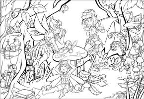 Fairies II by IrisErelar