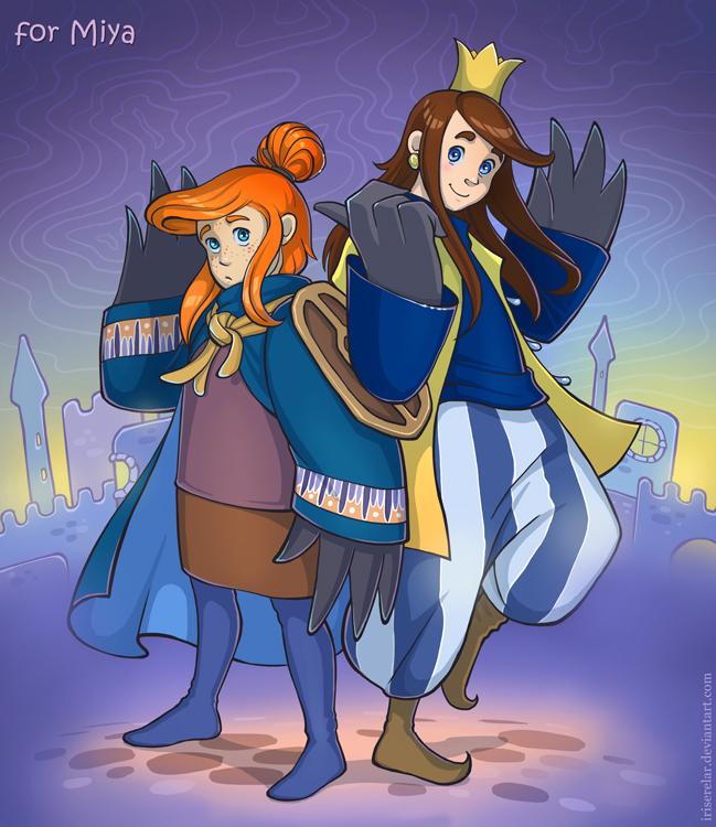 Pageboy and prince by IrisErelar
