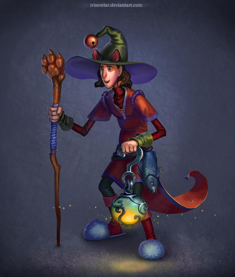 Cat_Magician by IrisErelar