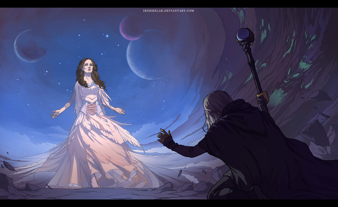 Goddess of the Abyss by IrisErelar