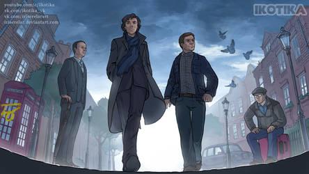 Sherlock_cover_1 by IrisErelar