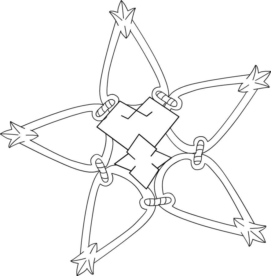 Keyblade From Kingdom Hearts Coloring Pages Coloring Pages