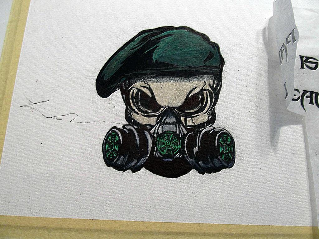 skull gas mask by aj32709 on deviantart. Black Bedroom Furniture Sets. Home Design Ideas