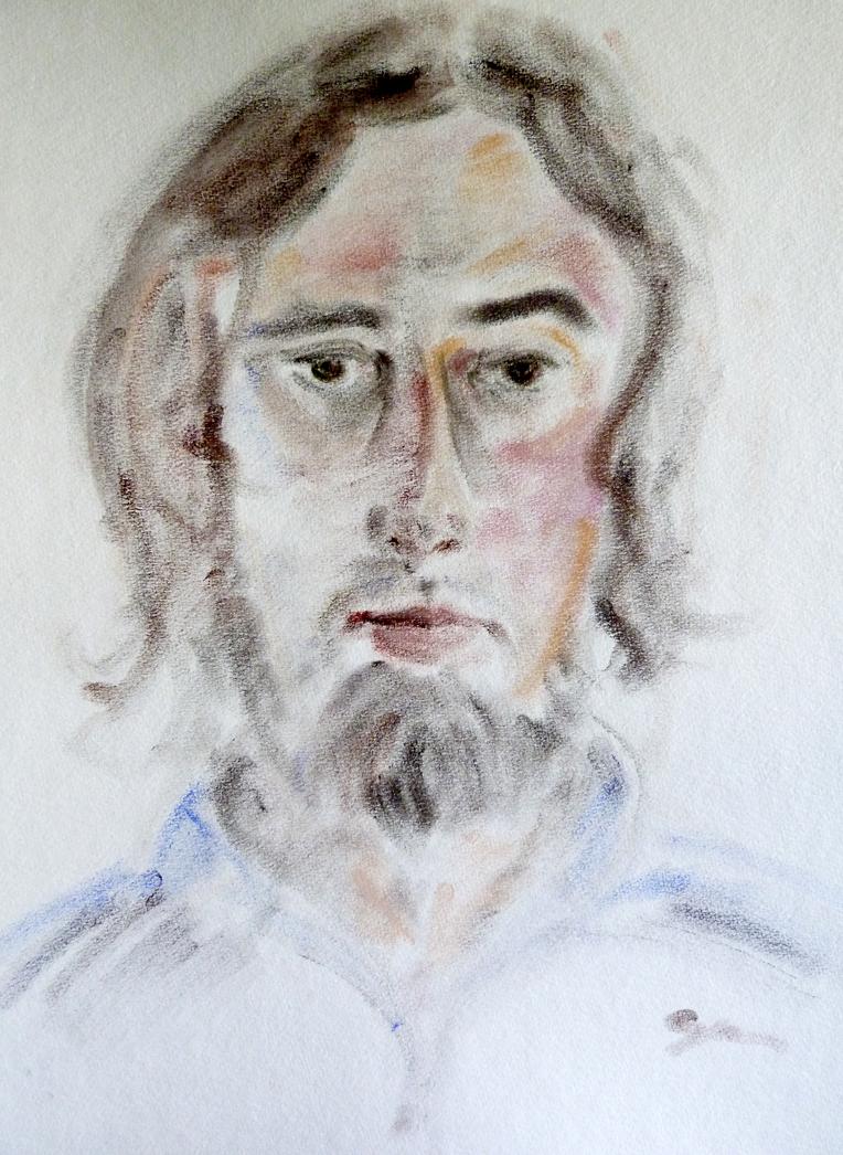 Self Portrait by TattooedPriest