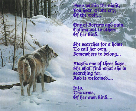 Lone wolf poems