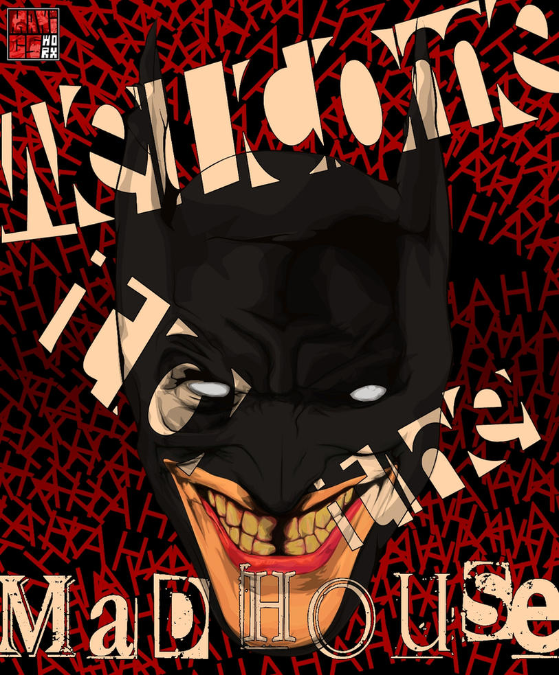 Comic Aun Book Cover Illustration Ver ~ Batfreak fan art cover ver black by maddaluther on