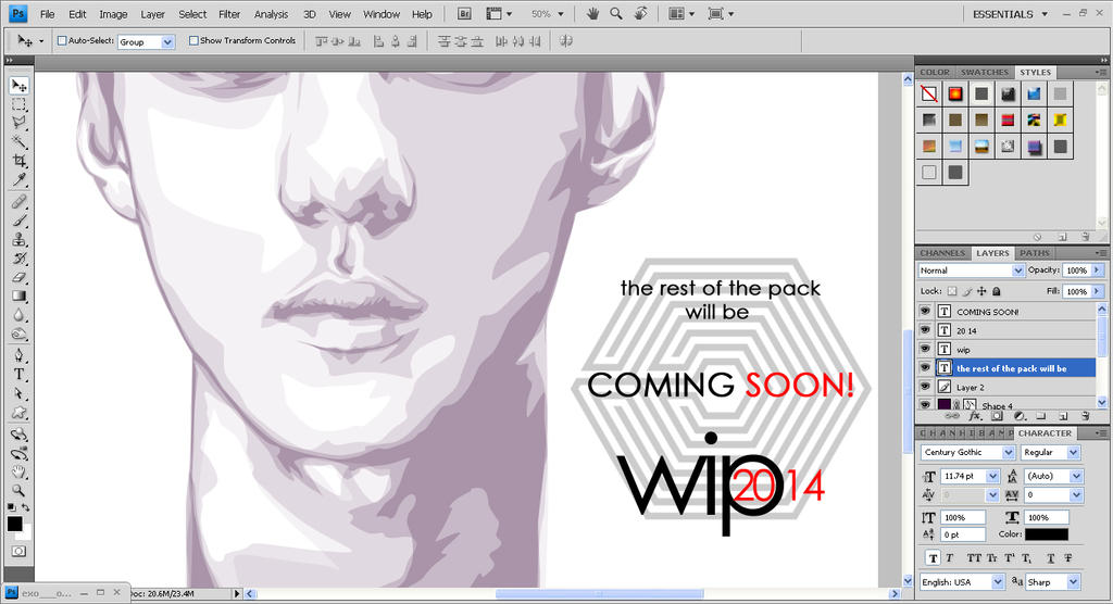 Coming Soon! WIP2014 by maddaluther