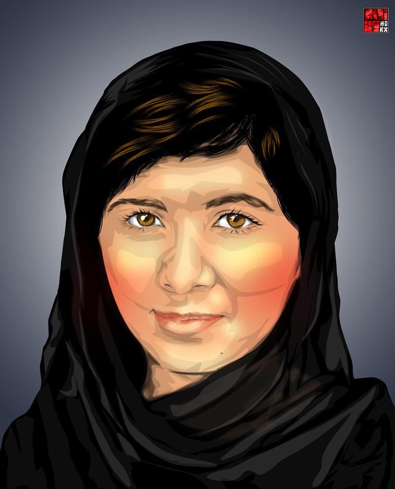 Malala Yousafzai by maddaluther