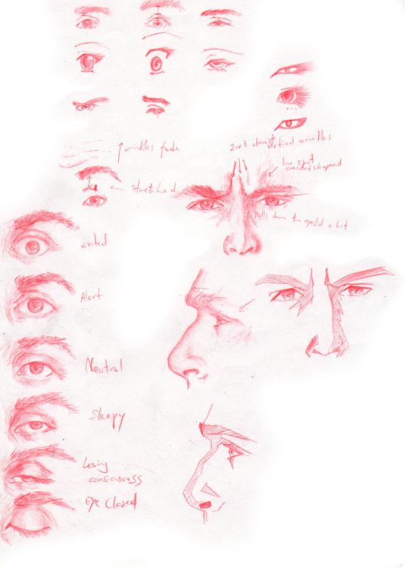 Facial Expression Study 16