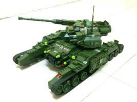 Lego Hammer Tank 'Mix' by SOS101