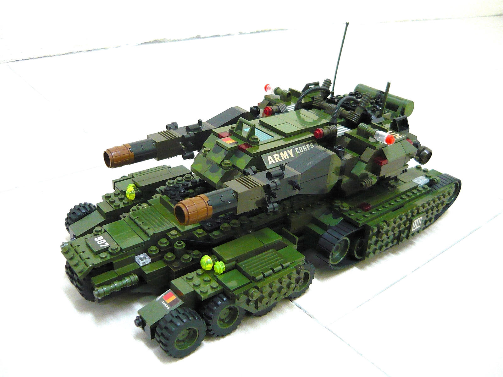 lego army tank instructions free