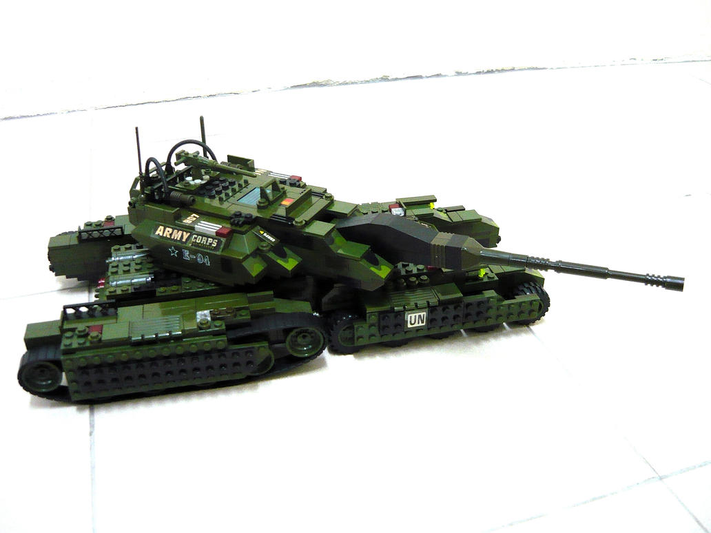 "Future Sherman Tank ""Fake"" 2 by SOS101"