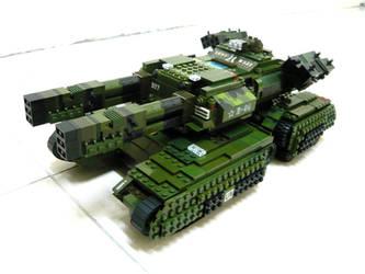 Lego Mammoth Tank 'Mix' 1 by SOS101