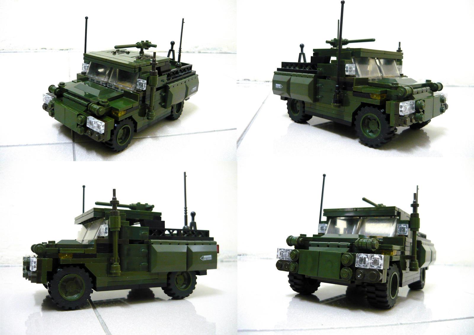 Lego Humvee 1 by SOS101
