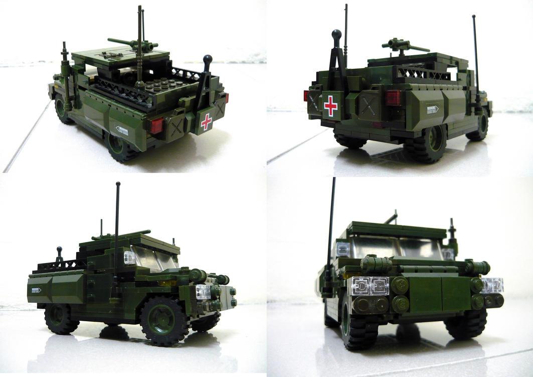 Lego Humvee 2 by SOS101