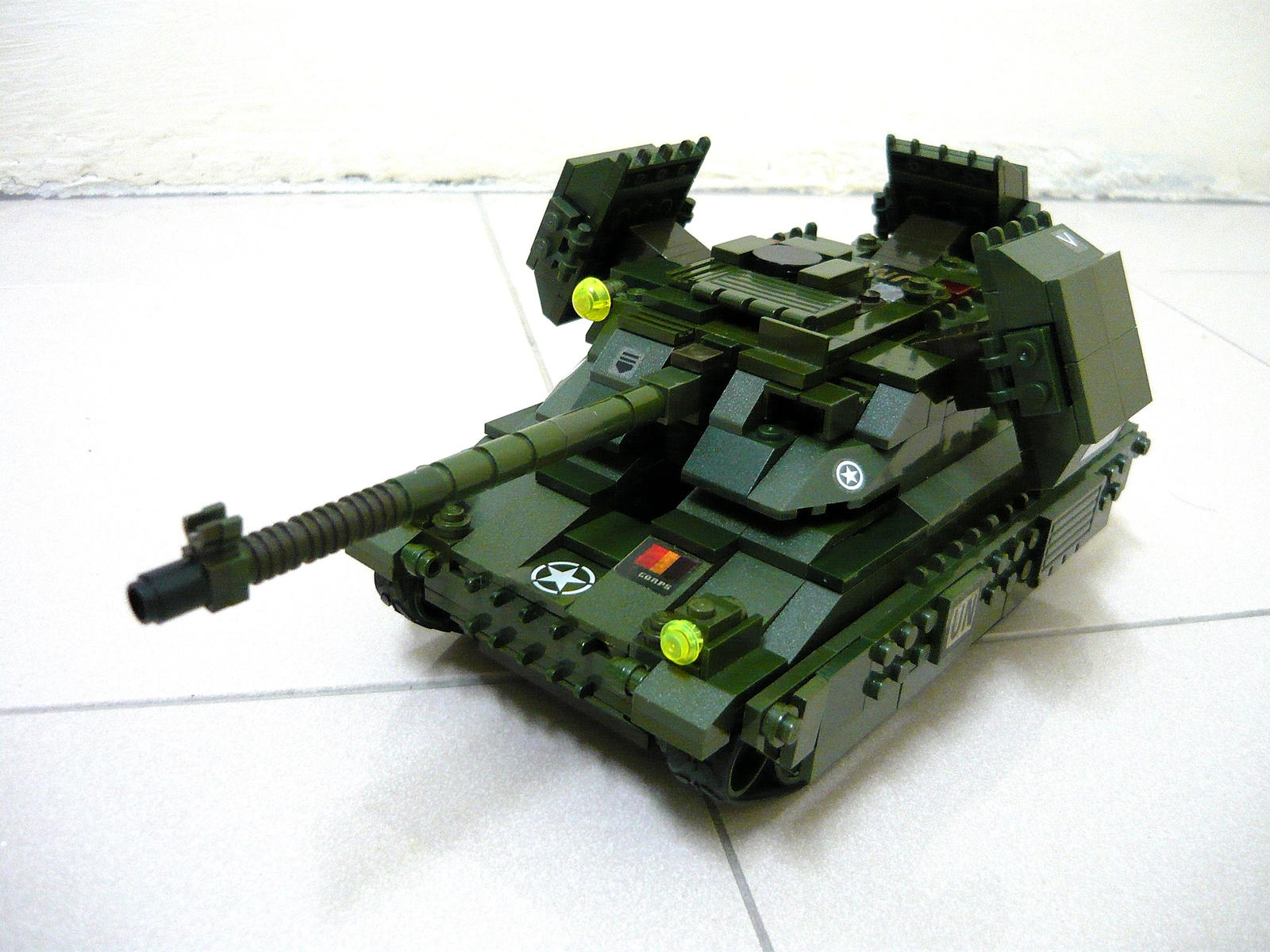 Lego Mirage Tank (RA2) 1 by SOS101