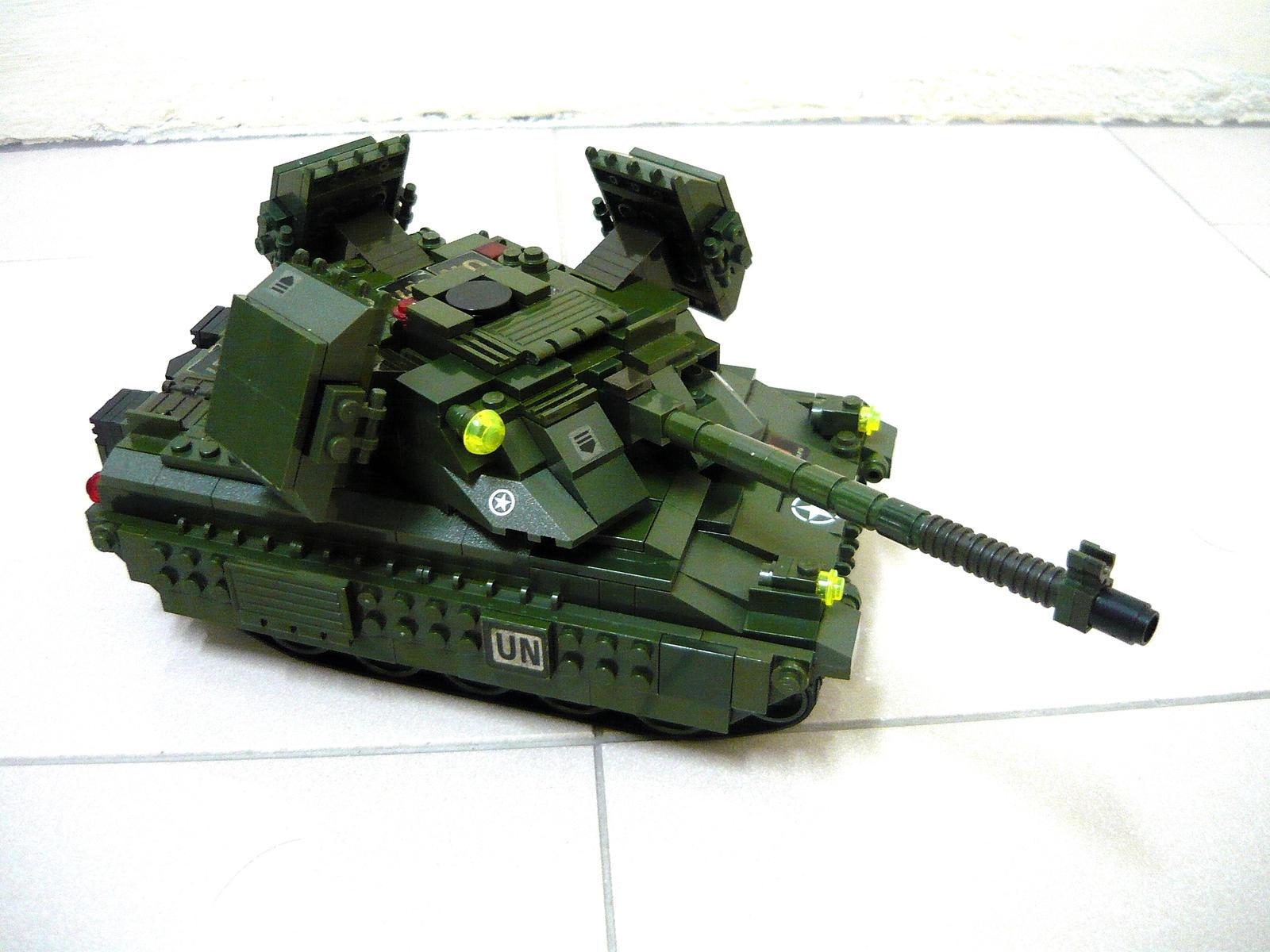 Lego Mirage Tank (RA2) 4 by SOS101
