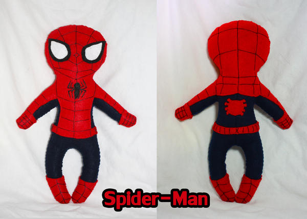 Spider-Man Plush By Plush-a-Saurus On DeviantArt