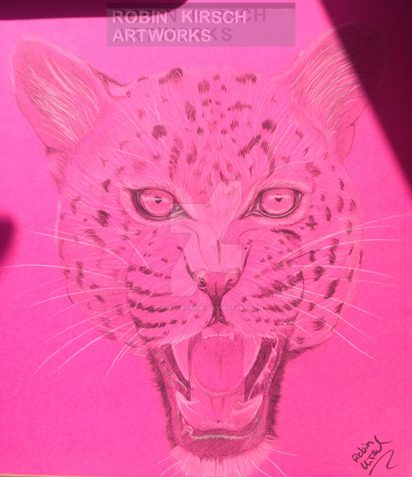 Pinky Leopard by ItamiKuroshimi
