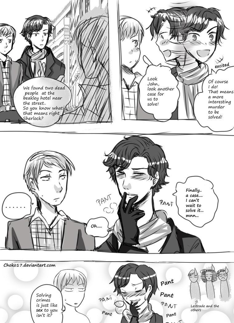 Sherlock gasm by Choko17