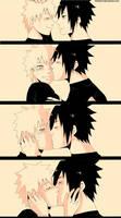Sasunaru : Kiss me