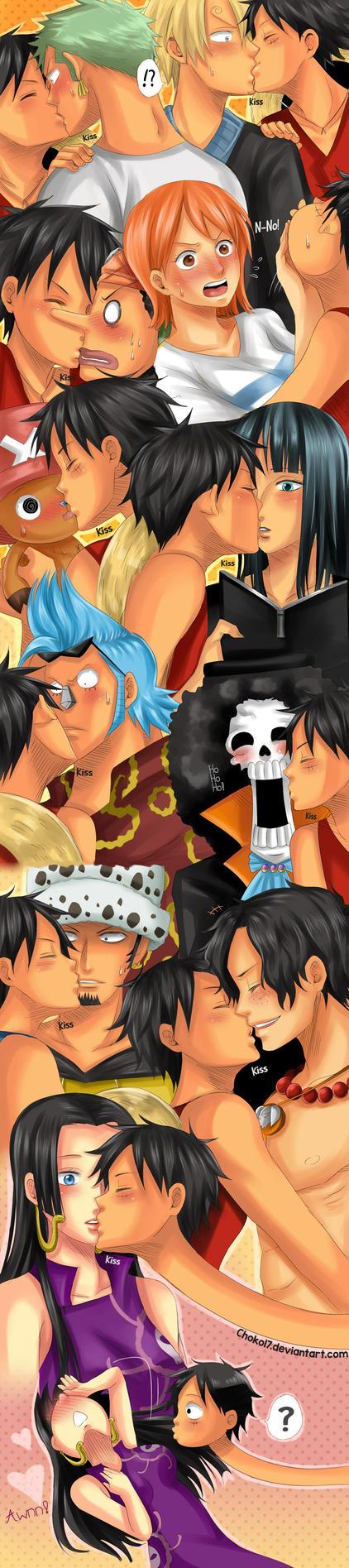 I want to kiss everyone by Choko17