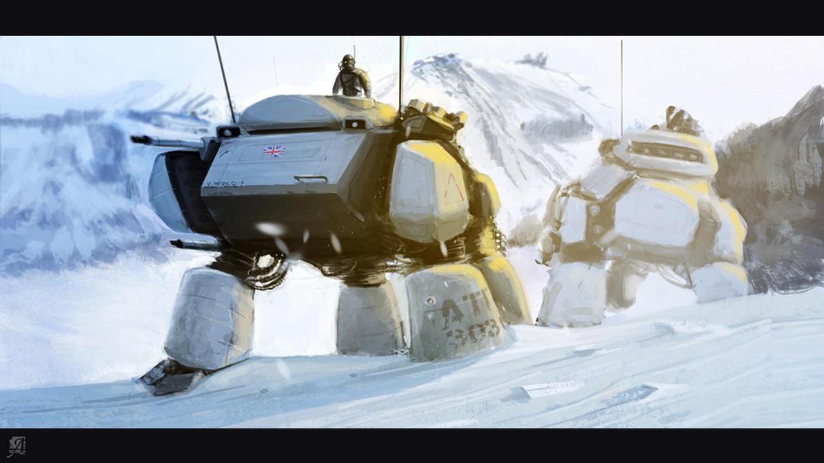 Snow Walkers by Belthazubel