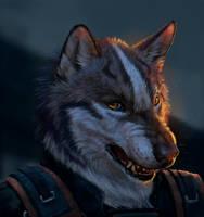 Wolf by Royzilya